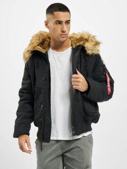 Alpha Industries Manteau hiver Polar noir