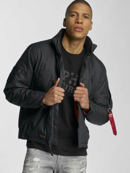 Alpha Industries Manteau hiver Helicopter  noir