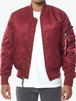 Alpha Industries Manteau hiver Ma-1 Vf 59 rouge