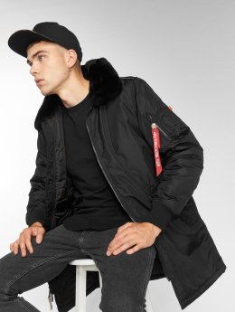 Alpha Industries Manteau Injector III noir