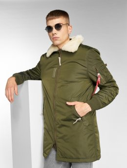 Alpha Industries Manteau Injector III vert