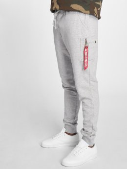 Alpha Industries Pantalone ginnico Industries X-Fit grigio