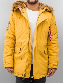 Alpha Industries Parka Explorer geel