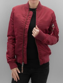Alpha Industries MA 1 VF 59 Women Jacket Burgundy