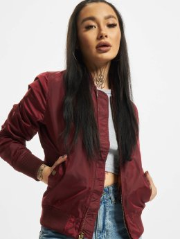 Alpha Industries MA-1 TT Bomber Jacket Burgundy