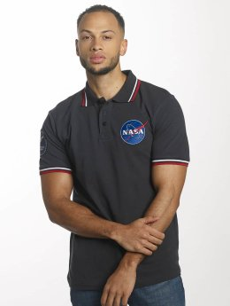 Alpha Industries Polo NASA Polo bleu