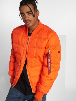 Alpha Industries Puffer Jacket MA-1 orange