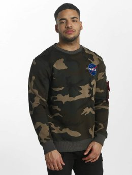 Alpha Industries Männer Pullover Space Shuttle in camouflage