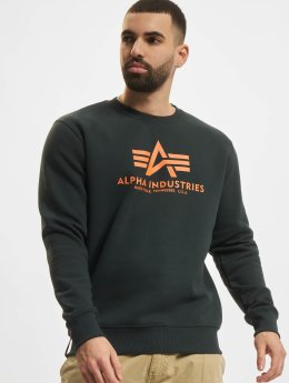 Alpha Industries Pullover Basic grün