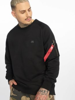 Alpha Industries Pullover X-Fit schwarz