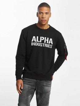 Alpha Industries Pullover Camo Print schwarz