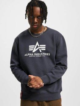 Alpha Industries Pulóvre Basic  modrá