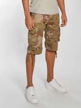 Alpha Industries Shorts Jet brun