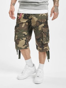 Alpha Industries Shorts Jet kamuflasje