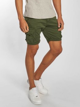 Alpha Industries Shorts Crew Patch olive