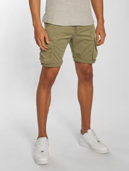Alpha Industries Shorts Crew oliven