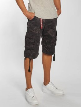 Alpha Industries Shorts Jet schwarz
