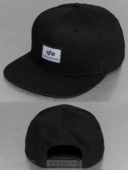 Alpha Industries Snapback Cap X-Fit schwarz