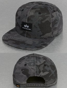 Alpha Industries snapback cap X-Fit zwart