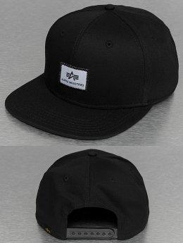 Alpha Industries Snapback Caps X-Fit czarny