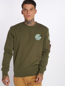 Alpha Industries Sweat & Pull Space Shuttle vert