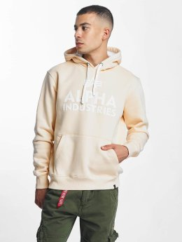 Alpha Industries Sweat capuche Foam Print beige
