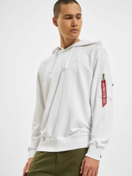 Alpha Industries Sweat capuche X-Fit blanc