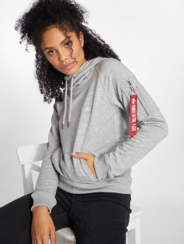 Alpha Industries Sweat capuche X-Fit gris