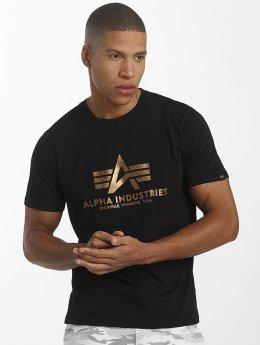 Alpha Industries T-paidat Basic musta