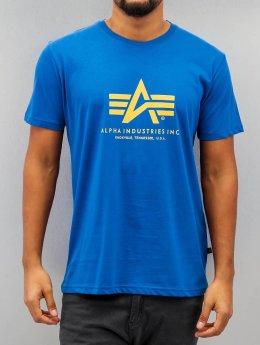 Alpha Industries T-shirt Basic blå
