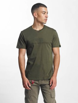 Alpha Industries T-Shirt 3D green