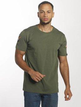 Alpha Industries T-Shirt NASA olive