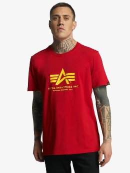Alpha Industries T-Shirt Basic rot
