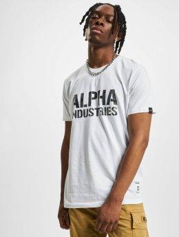 Alpha Industries t-shirt Camo Print wit