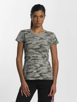Alpha Industries T-shirts Basic T Wmn grå
