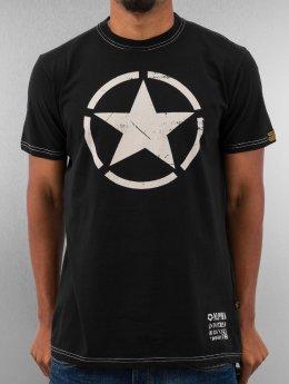 Alpha Industries T-Shirty Star czarny