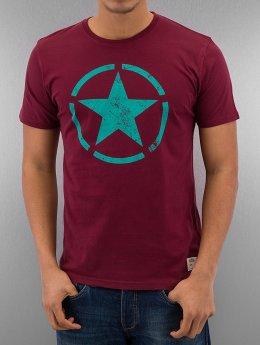 Alpha Industries T-Shirty Star czerwony