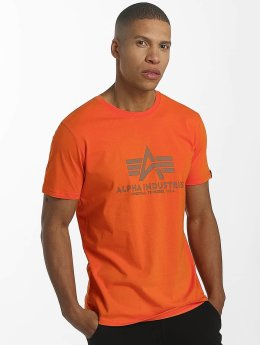 Alpha Industries T-Shirty Basic czerwony