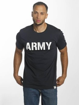 Alpha Industries T-Shirty Army niebieski