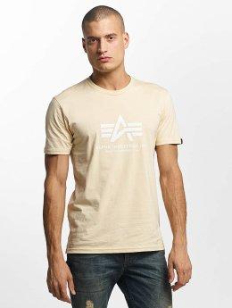 Alpha Industries T-skjorter Basic beige