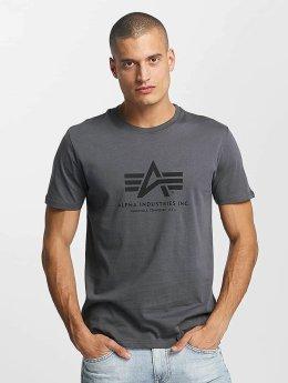 Alpha Industries T-skjorter Basic  grå