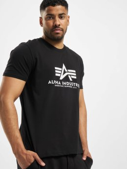 Alpha Industries T-skjorter Basic svart
