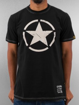 Alpha Industries T-skjorter Star svart