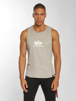 Alpha Industries Tank Tops Logo grå