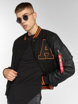 Alpha Industries Teddy College noir
