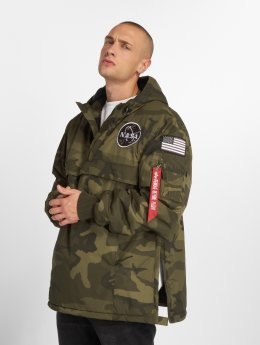 Alpha Industries Transitional Jackets NASA Anorak kamuflasje