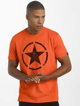 Alpha Industries Trika Star oranžový