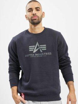 Alpha Industries trui Basic blauw