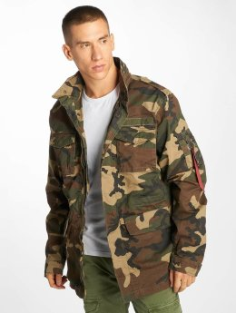 Alpha Industries Übergangsjacke Huntington camouflage
