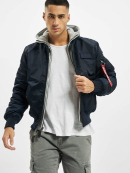 Alpha Industries Winterjacke  blau